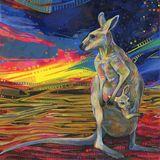 Kanguru goatrance set