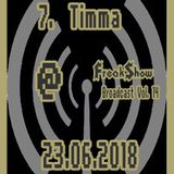 Timma - Live at FreakShow Broadcast Vol. 14 (23.06.2018 @ Mixlr)