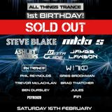 All Things Trance - 1st Birthday Mix - Closing Set Psy Room