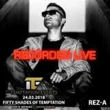 MC Roga & Rez-A live @ Fifty Shades Of Temptation