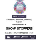 Show Stoppers Live at We Are Fstvl 28 May 2016