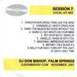 Session 7-Vocal Hit Mix-11-2001-DJ Don Bishop