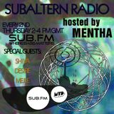 Mentha B2b Mejle B2b Shiva + Desire Juke Set - Subaltern Radio 18 Sep 2014