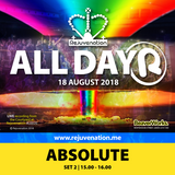 Set 2 | 15.00 - 16.00 | Absolute | Rejuvenation | All Dayer 2 | 18.08.18