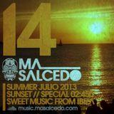 14 - Julio 2013 Sunset - Special 160min. 125bpm by ma_Salcedo