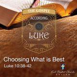 Choosing What is Best_10-21-18