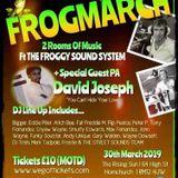 FROGGY LIVE AT OSCARS FRIDAY 15th JANUARY 1982