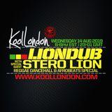 LIONDUB & STERO LION - 08.14.19 - KOOLLONDON [FRESH DANCEHALL & AFROBEATS]