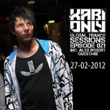Xabi Only - Global Trance Sessions 021 (inc. Alex Robert Guestmix) [27-02-2012]