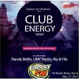 DJ Randy Bettis presents: EnergyFM 'Club Energy' Mixshow, Eps. 9
