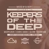 Keepers Of The Deep Ep 18, Deepflava (Chicago), Chris Udoh (Wamdue, Philly) & Glenn Thornton (Slaag)