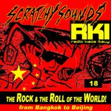 Scratchy Sounds 'The Rock and The Roll of The World' on Radio Kaos Italy: Show 	Diciotto