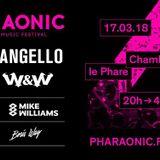 W&W - live @ Pharaonic Festival (France) – 17.03.2018