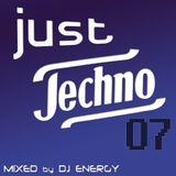 DJ Energy presents Just Techno 007 [OKT2014]