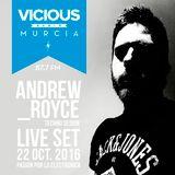 LIVESET - TECHNO RADIO VICIUS @ Andrew Royce