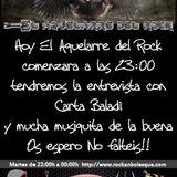 El Aquelarre del rock #55 Entrevista con Carta Baladì (parte1 cabecera)