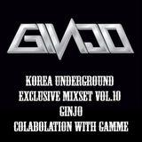 Korea Underground Vol.10 (Guest DJ - Ginjo)