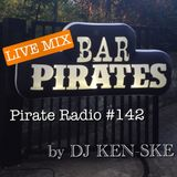 "[InterFM 76.1] Moichi Kuwahara's Pirate Radio #142 ""LIVE MIX @ BAR PIRATES 8/25/12"""