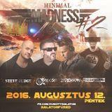 2016.08.12. - Minimal Madness - SunCity, Balatonfüred - Friday