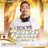 DJ TOMO @PRIDE MUSIC FESTIVAL 2018 special promo set