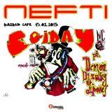 Nefti & Mc Królas - Live @ Friday 13.02.2015