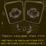 TECH HOUSE MIX # 4 – Sensitive Sequences for advanced Connoisseurs