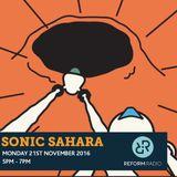 Sonic Sahara 21st November 2016