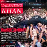 The Bassment 6/9/17 w/ Valentino Khan