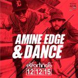 2015.12.12 - Amine Edge & DANCE @ El Fortin, Porto Belo, BR