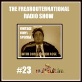 The FreakOuternational Radio Show #23 05/12/14