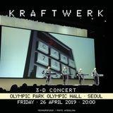 Kraftwerk - Olympic Park Olympic Hall, Seoul, 2019-04-26