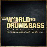 Bladerunner - World of Drum & Bass Warm Up Scratch DJ Academy Miami (22.03.2017)