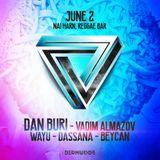 Vadim Almazov B2B Beycan (live dj set) - Bermudos Sessions @ Reggae Bar , Phuket 2/06/2017