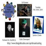 Tuesday Night Round Table with Host Kiler Davenport 2/10/15