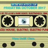 In The Mix With DJ Tim - 6th October 2017 - Preston Hospital Radio - (PHR)