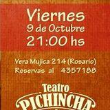 Gabriel Vallejos, de Yupará, pasó por FM 99.3 antes del show de esta noche en Teatro Pinchinca