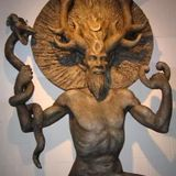 'Cernunnos vs Cynon' Celtic Myth from Magical Beasts of the Enchanted World series