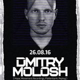 Berni Turletti 16/08 Warm Up Dmitry Molosh @LolaCruzClub