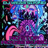 DJ WEAR SOUND - NO STOP HOUSE MUSIC puntata n 7 del 06/03/2016