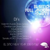 VALENTIN HUEDO - FULL MOON PARTY - EL SITIO DE PLAYA VENAO - 3 / 1 / 2015