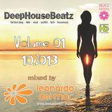 DeepHouseBeatz Volume 01 ( 10.2013 ) by Leonardo del Mar
