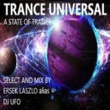 DJ UFO presents TRANCE UNIVERSAL  select and mix by Ersek Laszlo alias dj ufo