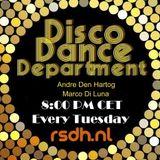 Radio Stad Den Haag - Disco Dance Department. February 06, 2018.