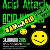 Sam on Acid Live Dj Set @ Acid Attack Mikroport Club