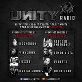 UNITY RADIO Episode # 01 - Radical Redemption & Crypsis - Brutal Sounds