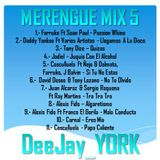 MERENGUE MIX 5 By DeeJay_YORK