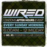 Rob Burden Live @ Wired Sundayafterparty Promo Minimix