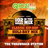 Q102.1 Thanksgiving Throwback Mix by DJ Latin Prince (Aired Nov 29th 2015) 3PM