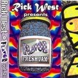 RICK WEST FLAVOR VOL.2 MIXTAPE SERIES SIDE A & B AUTUMN 1995
