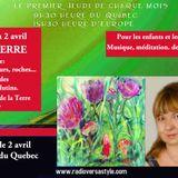 Francine Grimard 2 Avril 2015 Émission sur www.radioversastyle.com